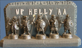 Up-Helly- Aa Figures
